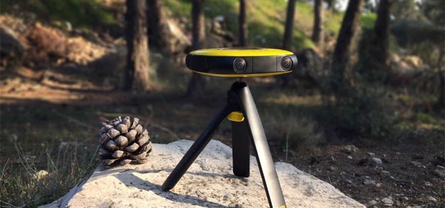 CES 2016: VUZE 360-degree 3D VR Camera comes with VR ...