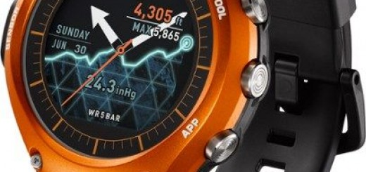 Casio WSD-F10 rugged Android Wear Smartwatch releases; pricing $500