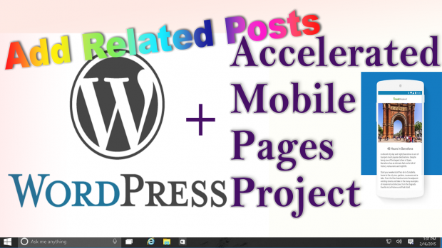 WordPress + AMP: Add Related Posts to Accelerated Mobile Pages without Plugin