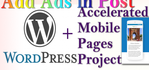 How to Add ads in WordPress Accelerated Mobile Pages content