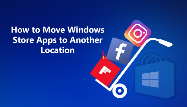 How to move / Istall Windows Store App/Game to another drive