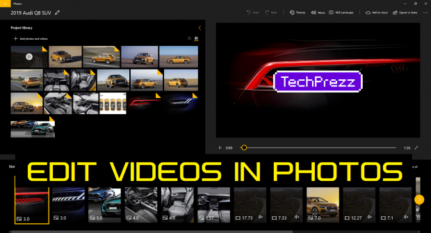 Microsoft Photos App Video Editing Tutorial
