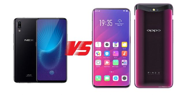 oppo find x vs vivo nex s : specs review and comparison