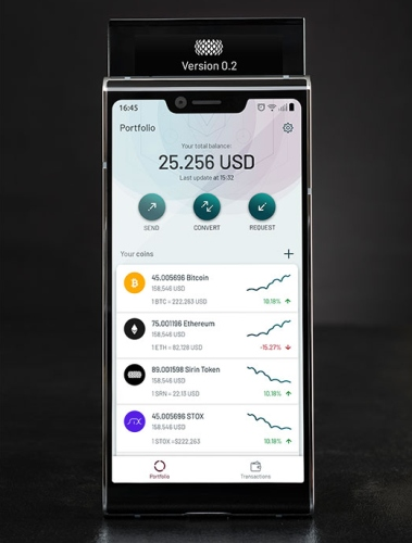 Meet The World's First Blockchain Phone With a second Screen for Crypto Transactions