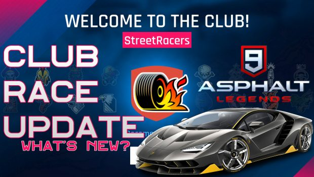 asphalt 9 club race update
