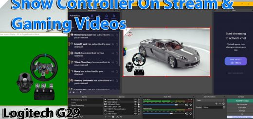 How to show controller on stresam obs and gaming videos