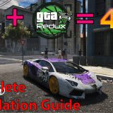 How to install GTA 5 Redux Mod 1.9 | 4K Visual & Gaming Mod