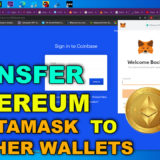how to transfer ethereum from metamask to other wallets
